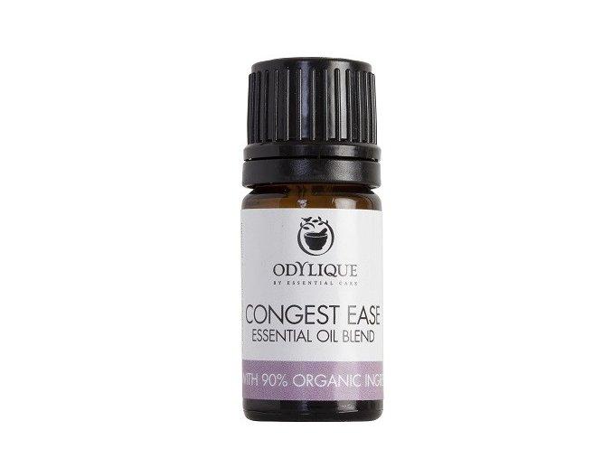 ODYLIQUE - Směs Esenciálních Olejů pro Chřipku, Nachlazení a Zánět Dutin - CONGEST EASE