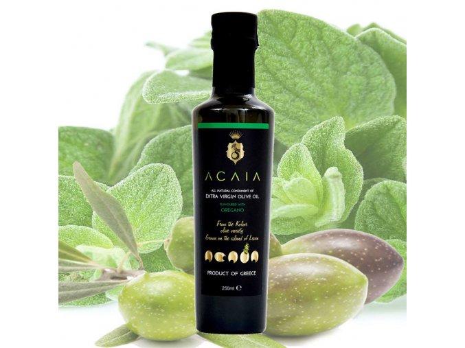 ACAIA extra panensky olivovy olej s oreganem [250 ml] - PraveBio.cz
