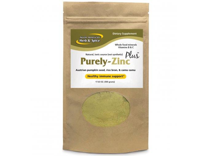 NORTH AMERICAN HERB & SPICE - Přírodní zinek obohacený o Vitamin C a B - Purely ZINC Plus