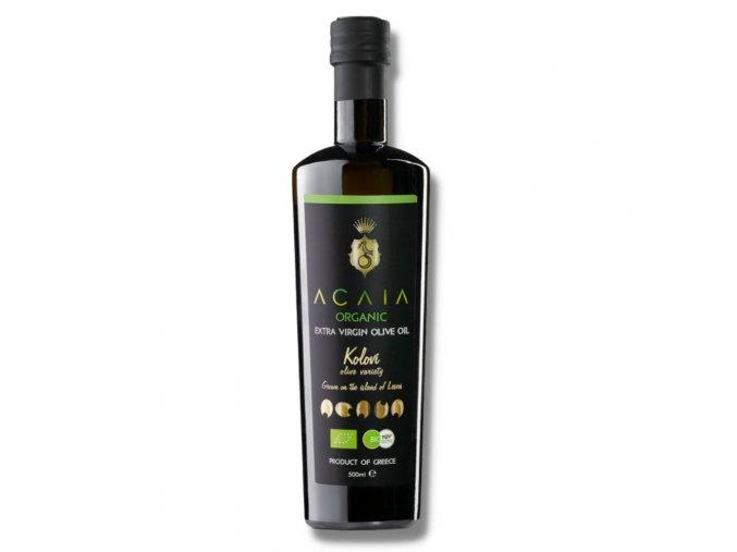 ACAIA - Prémiový BIO Extra Panenský Olivový Olej z odrůdy KOLOVI - 500 ml