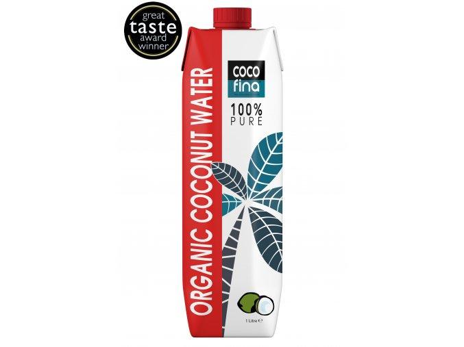 COCOFINA - BIO 100% KOKOSOVÁ VODA bez přidaných sladidel