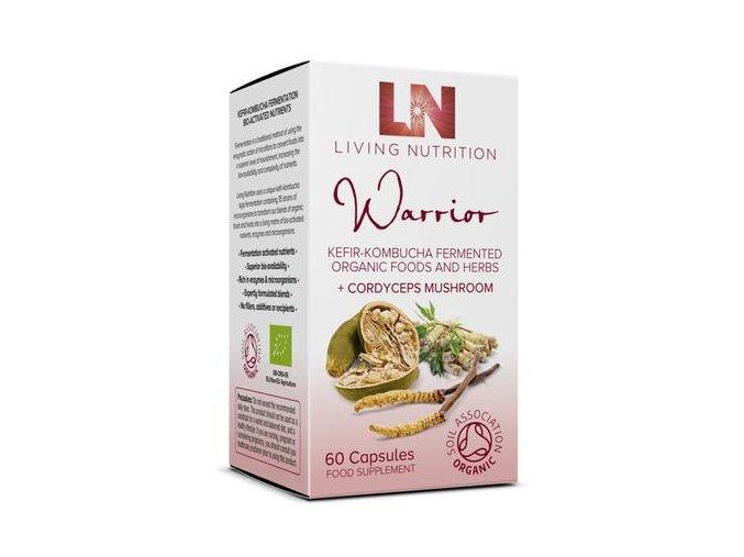 LIVING NUTRITION - doplněk stravy WARRIOR na podporu energie, fyzických výkonů a vitality. 60 kapslí, pravebio.cz