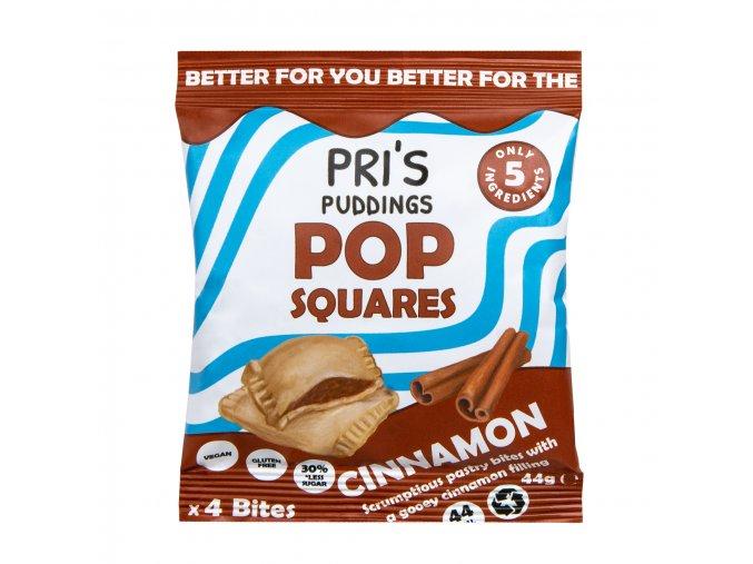 Pop Squares taštičky se skořicovou náplní | PRI'S PUDDINGS