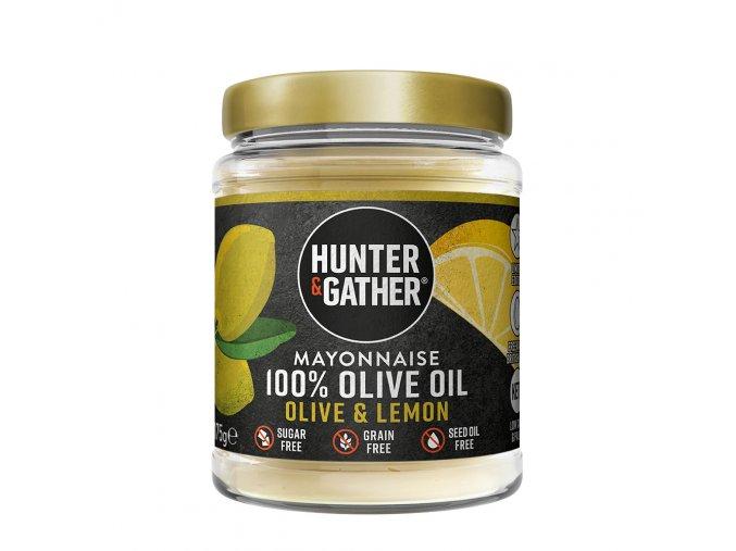 Keto Majonéza z olivového oleje s citronovou příchutí - LIMITOVANÁ EDICE   HUNTER & GATHER