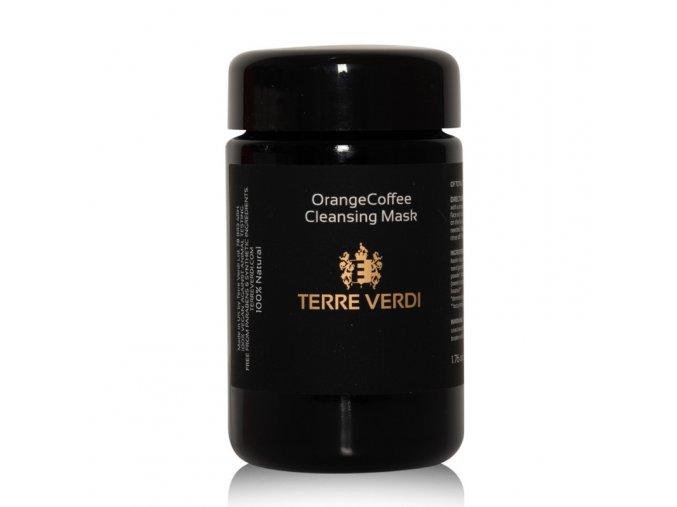 TERRE VERDI ORANGE COFFEE - Čistící pleťová maska pro normální, mastnou a kombinovanou pleť