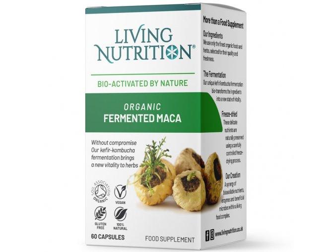 3x Fermentovaná BIO Maka   LIVING NUTRITION