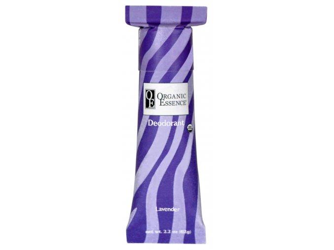 ORGANIC ESSENCE - BIO Tuhý Deodorant LEVANDULE| [62G]