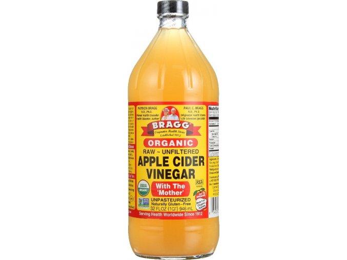 BRAGG - Prémiový BIO Raw Jablečný Ocet 1l
