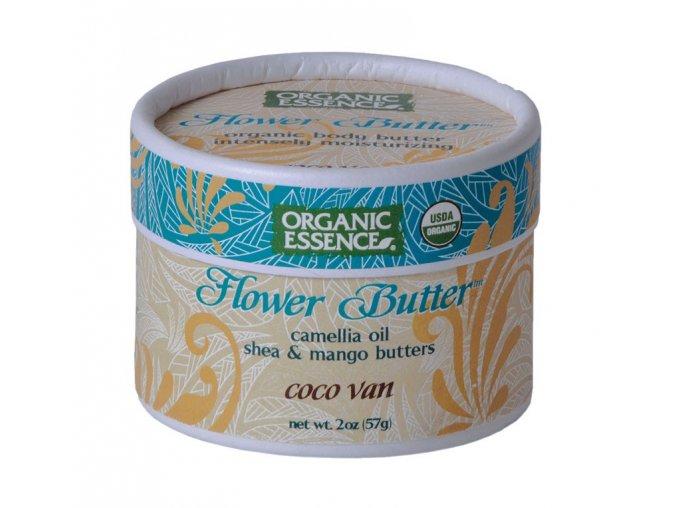 ORGANIC ESSENCE - Květinové máslo VANILKA KOKOS [57g]