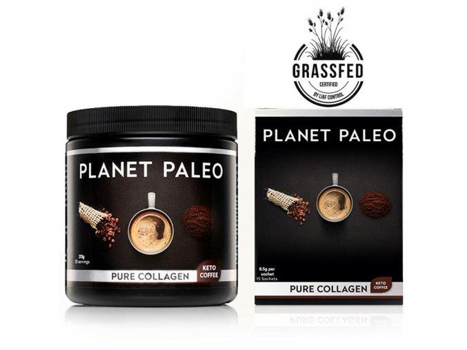 PLANET PALEO - Kolagenový nápoj s keto kávou - KETO COFFEE