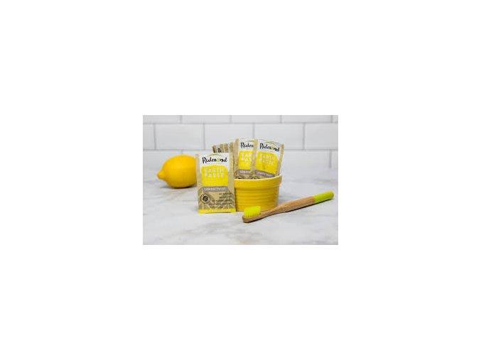 EARTHPASTE LEMON TWIST - Přírodní zubní pasta s bentonitovým jílem Redmond a citrusovou příchutí