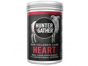 HUNTER & GATHER - Jehněčí srdce pro orgánovou výživu [90 tobolek]