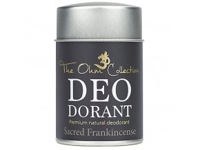 THE OHM COLLECTION - Pudrový Deodorant SACRED FRANKICENSE