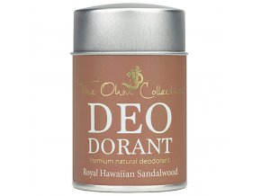 THE OHM COLLECTION - Pudrový Deodorant ROYAL HAWAIIAN SANDALWOOD