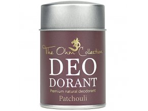THE OHM COLLECTION - Pudrový Deodorant PATCHOULI