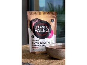 PLANET PALEO - BIO Sušený hovězí vývar čistý - Collagen protein PURE