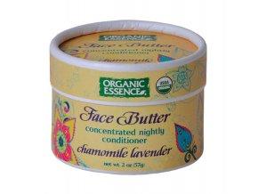 ORGANIC ESSENCE - Koncentrované pleťové máslo s modrým heřmánkem a levandulí