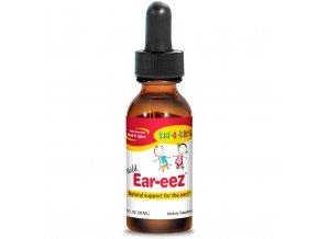 NORTH AMERICAN HERB & SPICE - Bylinné kapky do uší - EAR-EEZ - pro děti [60 ml]