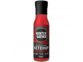 HUNTER & GATHER - Rajčatový kečup bez cukru a sladidel - SPICY CHIPOTLE [250g]