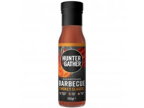 HUNTER & GATHER - Barbecue omáčka bez cukru a sladidel - SMOKEY CLASSIC