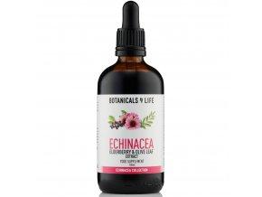 Bylinná tinktura z extraktů z echinacey, černého bezu a olivových listů | BOTANICALS 4 LIFE