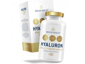 WOLDOHEALTH- Kyselina hyaluronová s biotinem, kolagenem a zinkem v kapslích