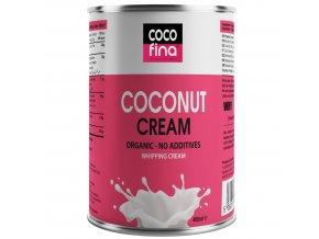 COCOFINA - BIO KOKOSOVÁ SMETANA s obsahem 90% kokosové dužiny