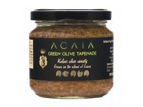 ACAIA - Prémiová Olivová Tapenáda ze zelených oliv KOLOVI