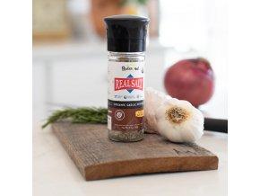 Mořská sůl z Utahu se sušeným česnekem a pepřem USDA ORGANIC| REDMOND Real Salt™