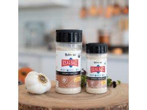 REDMOND Real Salt™ - Americká pravěká růžová sůl s příchutí sušeného BIO česneku