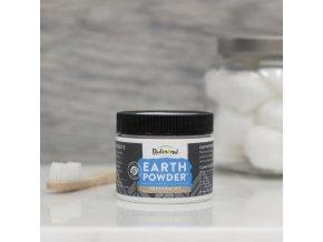 EARTHPowder - Přírodní Zubní Prášek PEPPERMINT CHARCOAL [51g]