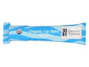 ORGANIC ESSENCE LIP BALM - Hydratační pomáda na rty bez příchutě