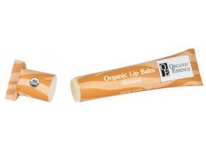 ORGANIC ESSENCE LIP BALM - Hydratační pomáda na rty s příchutí mandlí