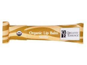 ORGANIC ESSENCE LIP BALM - Hydratační pomáda na rty příchutí vanilky