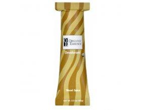 ORGANIC ESSENCE - BIO Tuhý Deodorant s vůní PATCHOULI, POMERANČE a HŘEBÍČKU