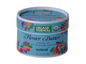 ORGANIC ESSENCE - Květinové máslo NATURAL [57g]-PRAVEBIO.CZ