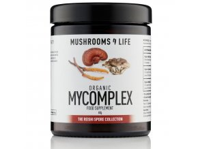 MUSHROOMS4 Life - Směs vitálních hub REISHI, CORDYCEPS A MAITAKE - MY COMPLEX