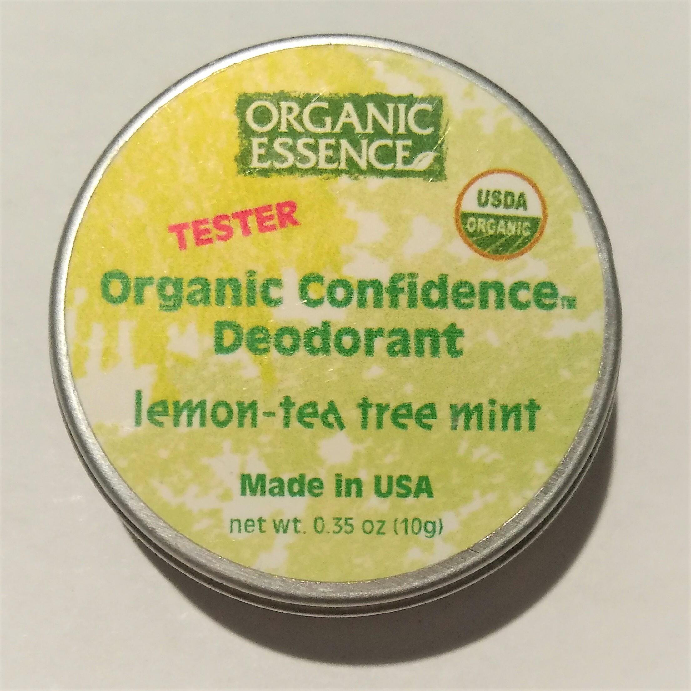 ORGANIC ESSENCE| BIO TUHÝ DEODORANT| LEMON TEA TREE MÁTA| 62G