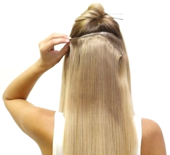 Jak připnout Clip in vlasy?