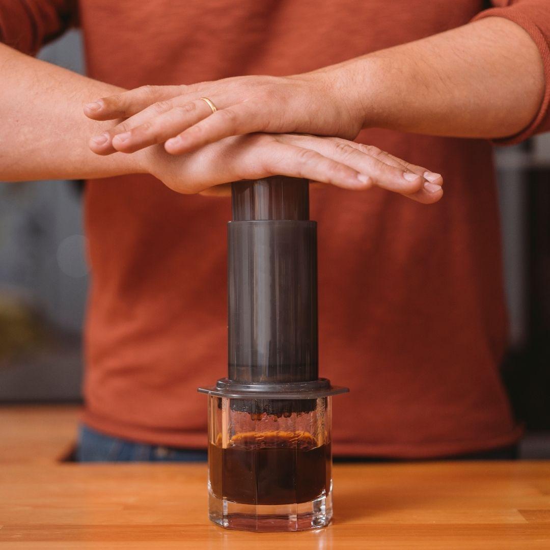 Příprava kávy doma - Aeropress