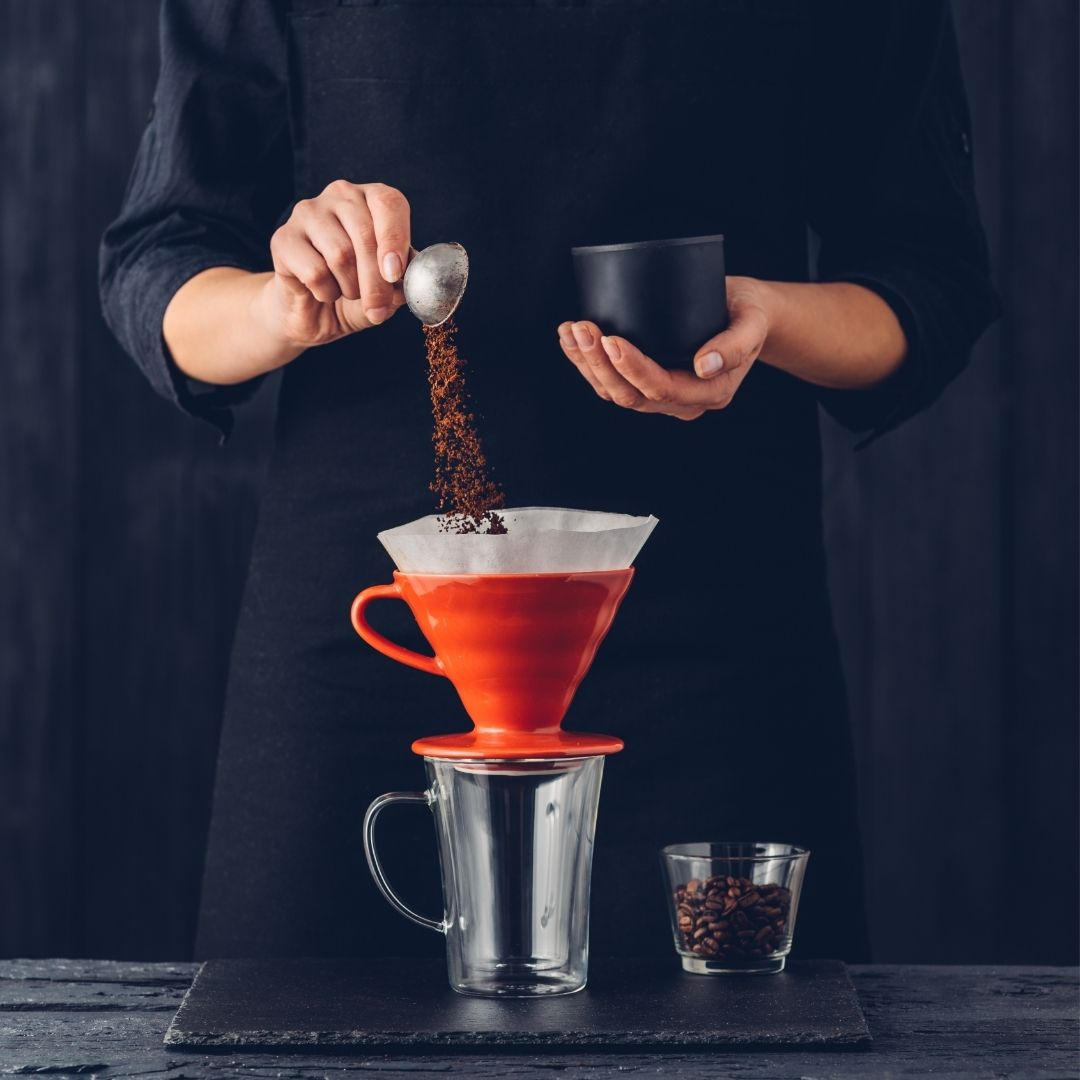 Příprava kávy - úvod