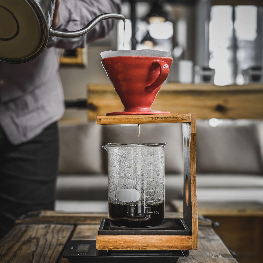 Příprava kávy doma - V60