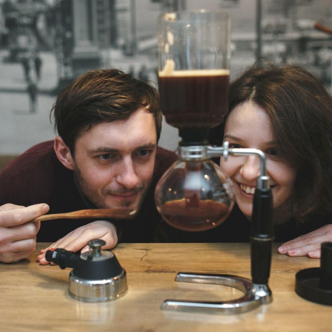 Příprava kávy doma - Vacuum pot