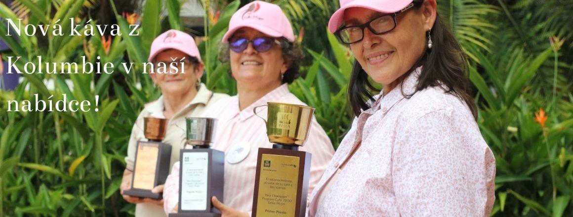 Nová káva z Kolumbie v nabídce