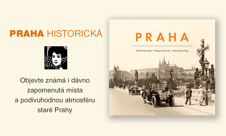 Kniha Praha historická | Prague historical⠀