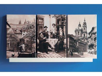 Fotoobrazy na plátně — různé varianty