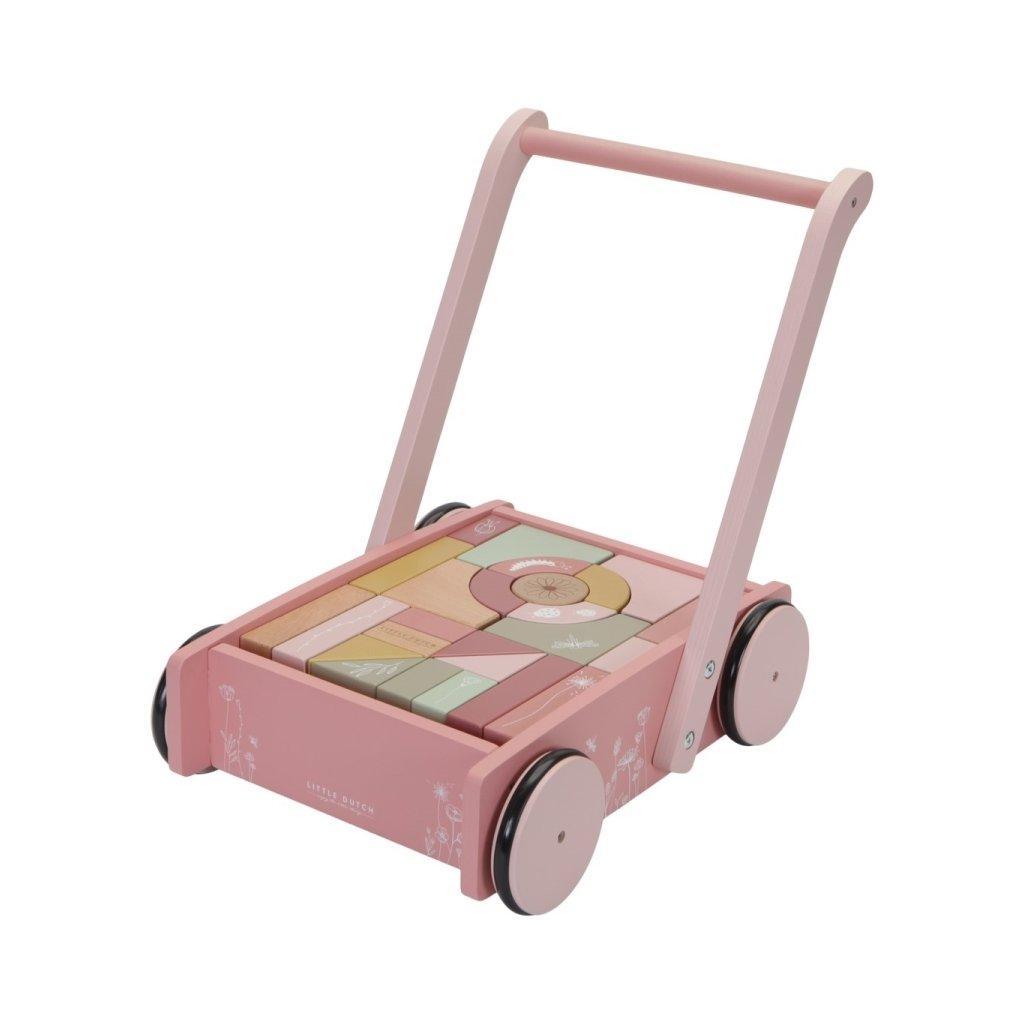 LD 7020 Vozík s kostkami pink 1 scaled