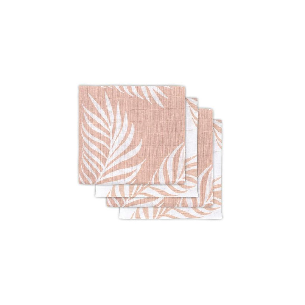 PLENY JOLLEIN 4 KS, 70 X 70 CM, BAVLNA, NATURE PALE PINK