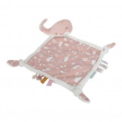 4809 Muchláček s velrybou pink scaled