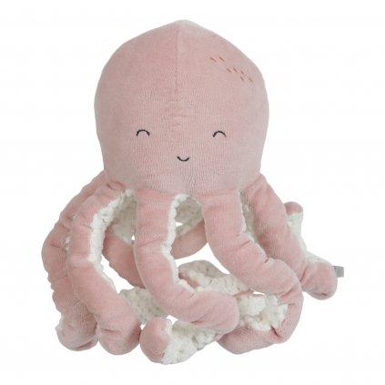 4803 Malá plyš.chobotnička pink scaled